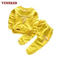 Children Clothing Sets Boys Girls Warm Long Sleeve Sweaters+Pants Kids Clothes Sports Suit for Girls