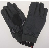 Gray Route 66 Gloves 3M Thinsulate Insulation Lined Mens Winter Snow Warm Knit