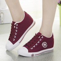 Ladies Canvas Shoes Casual Sneakers