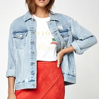 Kendall and Kylie Suede Asymmetrical Skirt at PacSun.com