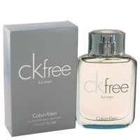 CK Free by Calvin Klein Eau De Toilette Spray 1.7 oz