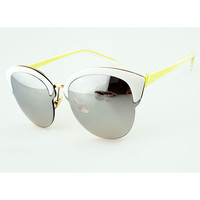 Round Sunglasses with Tinted Lens