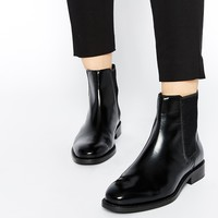 ASOS ABINGDON Leather Chelsea Ankle Boots