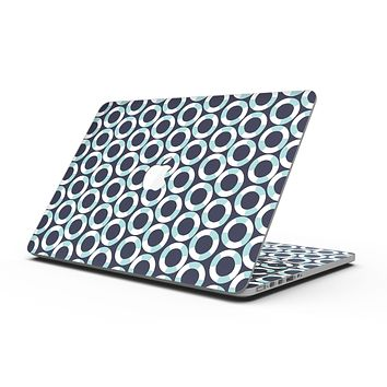 The All Over Teal and White Life Floats - MacBook Pro with Retina Display Full-Coverage Skin Kit