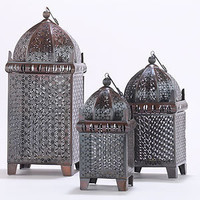 Copper Chennai Table Lantern Collection | Candles and Candleholders| Home Decor | World Market