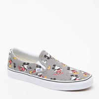 Vans - Disney Mickey Mouse Slip-On Shoes - Mens Shoes - Frost Grey