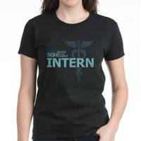 Seattle Grace Intern Women's Dark T-Shirt> Grey's Anatomy TV Store