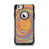 The Hand-Painted Circle Strokes Apple iPhone 6 Otterbox Commuter Case Skin Set