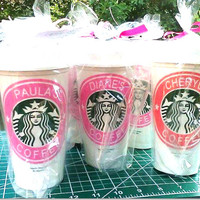 Bridesmaid Gifts Sets, Coffee Cups, Bridesmaid Proposal gift idea, Personalized Bridesmaid Cups