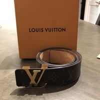 louis vuittons belt men 36