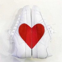 Adidas Superstar 80s Lover Heart Shoes