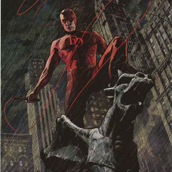 Daredevil Marvel Comics Poster 22x34
