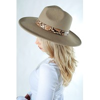 All You Need Hat: Taupe/Multi