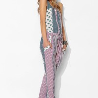 Flynn Skye Flower Child Button-Front Jumpsuit - Urban Outfitters