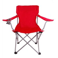 Portable Folding Outdoor Camping Chairs w/ Cup Holder