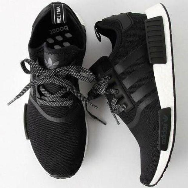 """Image of """"Adidas"""" Trending Fashion Casual Sports Shoes Black"""