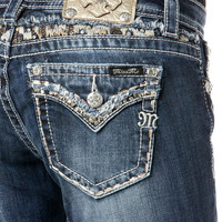 Miss Me Disco Diva Straight Leg Jeans