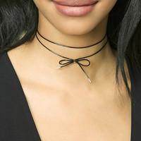 Bow-Front Choker