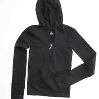 Pro Spirit Fitted Hooded Pull-Over Active Top S