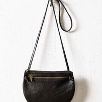 Silence + Noise Modern Half Moon Bag- Black One