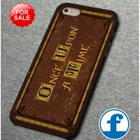 cover OUAT Book  for iphone, ipod, samsung galaxy, HTC and Nexus PHONE CASE