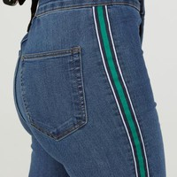 Super Skinny Ankle Jeans - Denim blue/green - Ladies | H&M US