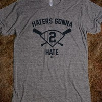 """VICT DJ """"Haters Gonna Hate"""" T-Shirt"""