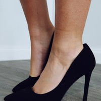 Her Own World Heels: Black