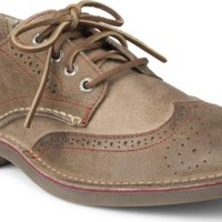 Sperry Top-Sider Cloud Logo Harbor Leather Wingtip Oxford BrownLeather, Size 7M  Men's Shoes