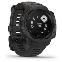 Garmin Instinct Rugged Outdoor Watch with GPS, and Heart Rate Monitoring, Graphite