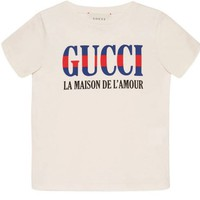 Gucci - Children's T-shirt with Gucci print