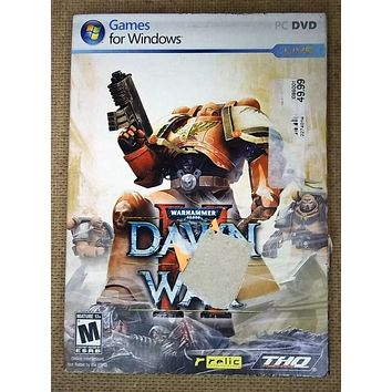 Relic Warhammer Dawn of War II for PC Games For Windows -- Used