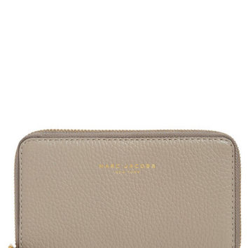 Marc by Marc Jacobs 'Pike Place' Leather Zip Phone Wristlet
