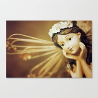 Daydreamer - Vintage Angel Canvas Print by Legends Of Darkness Photography