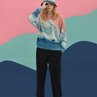 Snowberg Cotton Pullover Sweatshirt