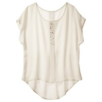 Xhilaration® Junior's Studded Top - Assorted Colors