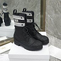 Christian Dior lace up shell head knight boots Shoes-1