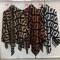 FENDI Womens Fashion Tassels Cardigan Jacket Coat