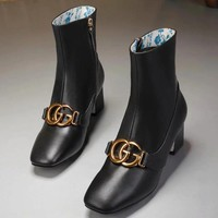 Gucci Women Fashion Simple Casual Boots Shoes