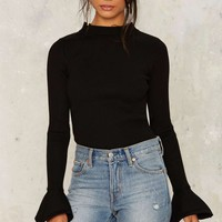 Flare For You Crew Bodysuit