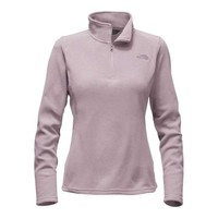 The North Face Glacier Quarter Zip for Women in Quail Grey Heather NF0A2RED-HSQ