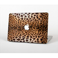 The Mirrored Leopard Hide Skin Set for the Apple MacBook Air 11""
