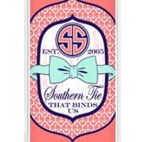 Simply Southern Preppy Phone Case for iPhone 6 in Pink Bowtie
