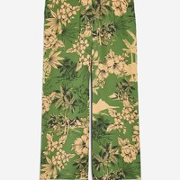 Tropical Print Pyjama Trousers