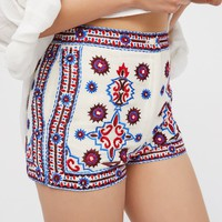 Free People Kozmic Daze Embellished Shorts