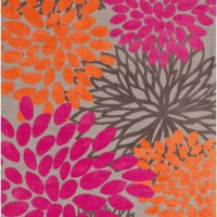 Abigail Kids Area Rug Orange, Pink
