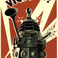 Doctor Who Dalek To Victory TV Poster Print