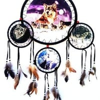 Dream Catcher -With Feathers- About 33