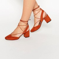 ASOS SERENE Lace Up Heels