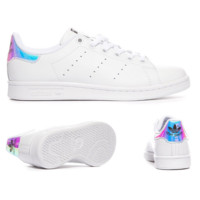 Unisex Men & Women Casual Sport Print Adidas Stan Smith Shoe Laser